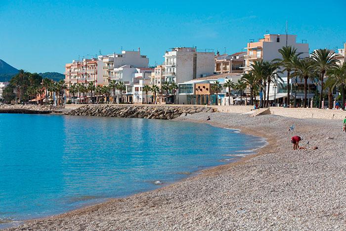 Javea Playa La Grava
