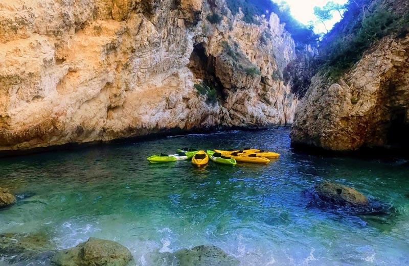 Ruta Cuevas Marinas Javea